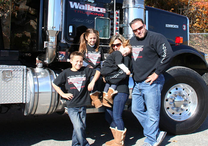 Wallace Trucking Family